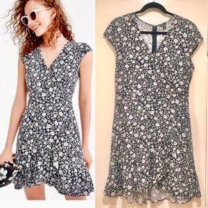 J.Crew Mercantile Dress Faux Wrap Mini Dress